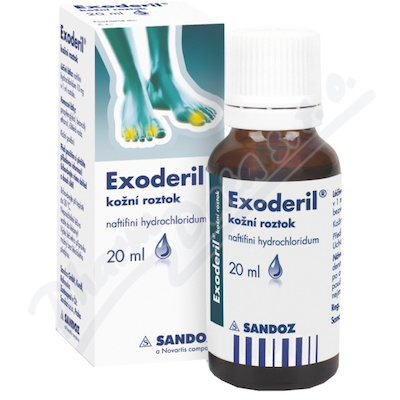 Exoderil 10mg/ml drm.sol.1x20ml