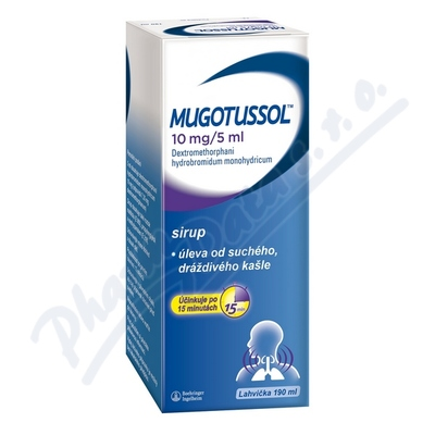 Mugotussol 10mg/5ml por.sir.1x190ml/380mg CZ