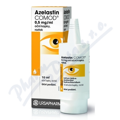 Azelastin Comod 0.5mg/ml oph.gtt.sol.1x10ml/5mg