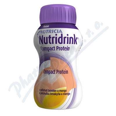 Nutridrink Compact Protein př. brosk.mango 4x125ml