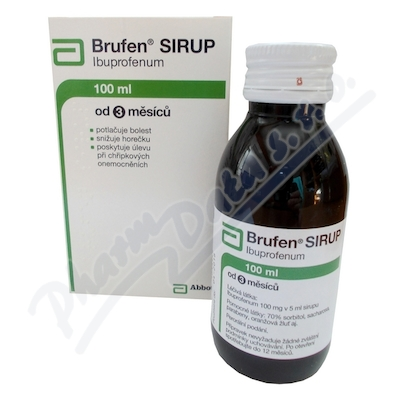 Brufen sirup sir.1x100mlx20mg/ml I