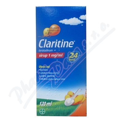 Claritine 1mg/ml sir.1x120ml