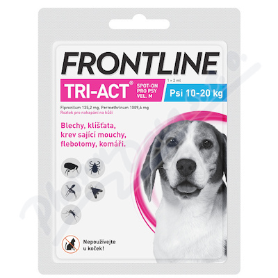 Frontline Tri-Act psi 10-20kg spot-on 1x1pipeta