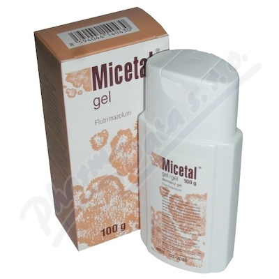 Micetal gel 100gmx10mg/gm