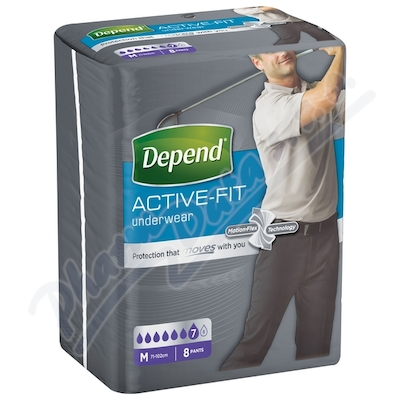 Depend Active-Fit inkont.kalh.muži vel.M 8ks