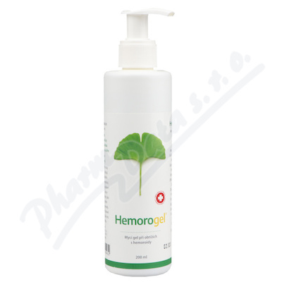 HEMOROGEL mycí gel 200ml