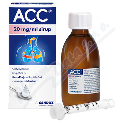 ACC 20mg/ml sir. 1x200ml