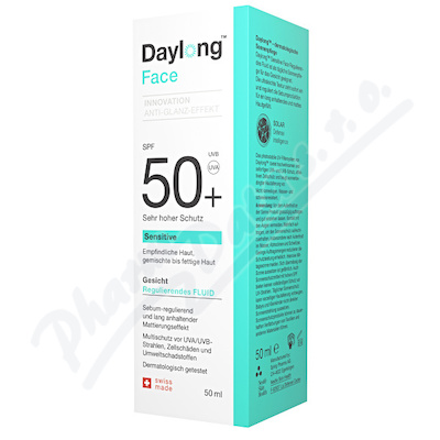 Daylong Face Sensitive SPF50+ fluid 50ml