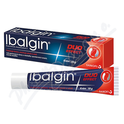 Ibalgin Duo Effect 500mg/g+2mg/g crm. 50g