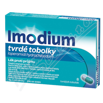 Imodium 2mg cps.dur.8