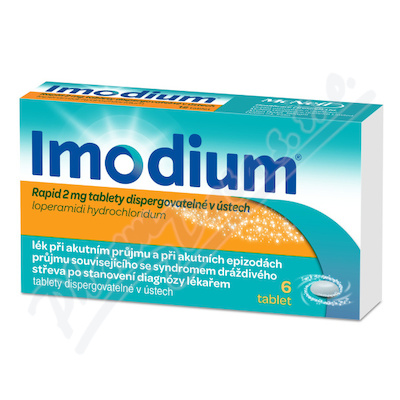 Imodium Rapid 2mg tablety disperg. v ústech 6