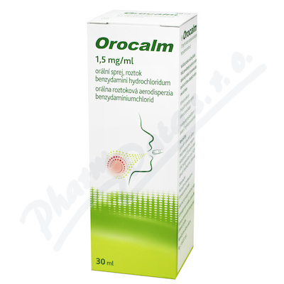 Orocalm 1.5mg/ml orální sprej 1x30ml