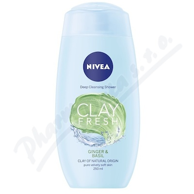 NIVEA Sprch.gel s jílem zázv&bazal. 250ml č. 83636