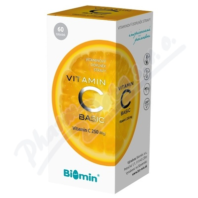 Biomin VITAMIN C BASIC 60 tob.