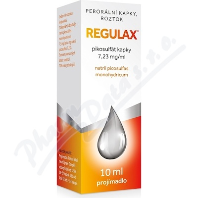 Regulax Pikosulfat kapky 7.23mg/ml gtt.sol.1x10ml