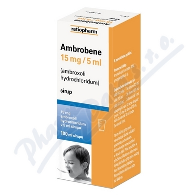 Ambrobene 15mg/5ml sir.1x100ml