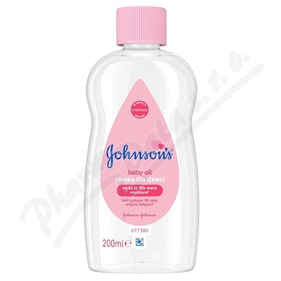 JOHNSONS Baby olej 200 ml