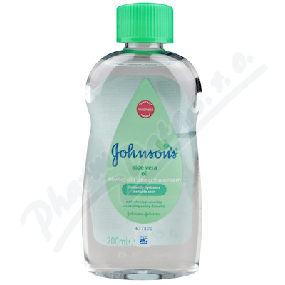 JOHNSONS Baby olej s aloe vera 200 ml
