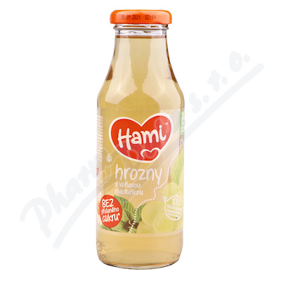 Hami ready tea hrozny s meduňkou 300ml 6M