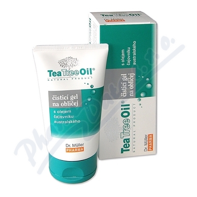 Tea Tree Oil čisticí gel na oblič.150ml Dr.Müller