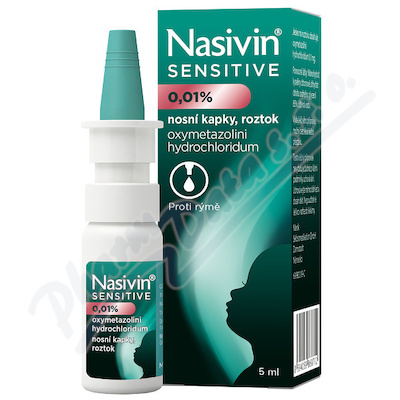 Nasivin Sensitive 0.01 % nas.gtt.sol.1x5ml