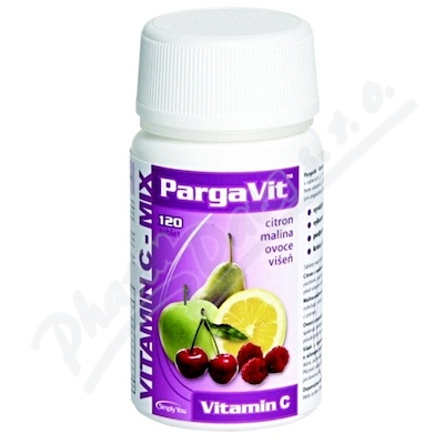 PargaVit Vitamin C Mix Plus tbl.120