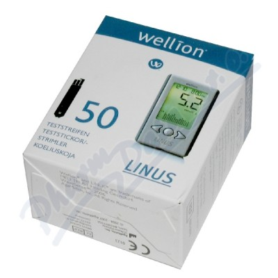 Proužky diagnost. WELLION Linus 50ks