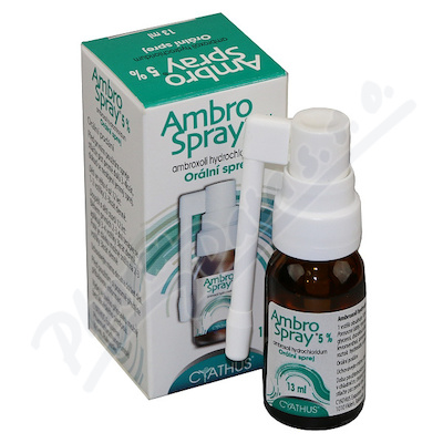 Ambrospray 5% orm.spr.13ml