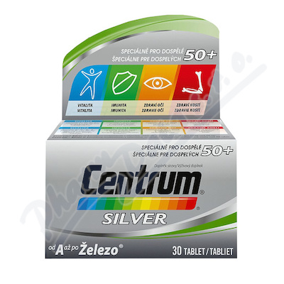 Multivitamin Centrum SILVER 30tbl